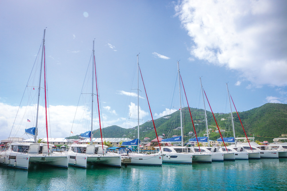 Sunsail virgin islands bareboat