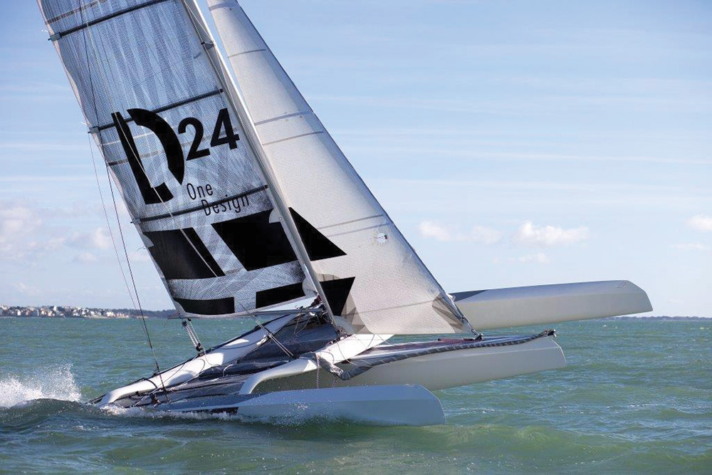 New Boat: Diam 24 One Design
