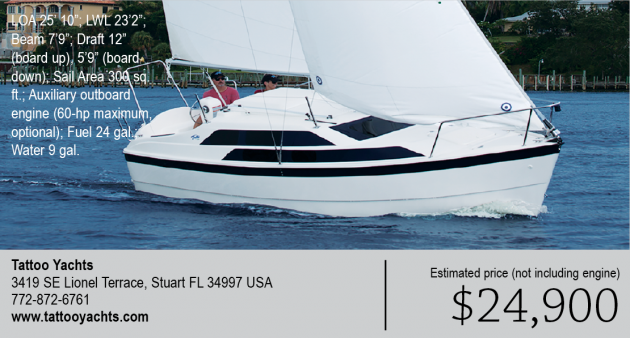 Tattoo Yachts Uses The Macgregor 26 Hull And Deck Molds Building From Elished Means That It Is A Proven Design Ers Can