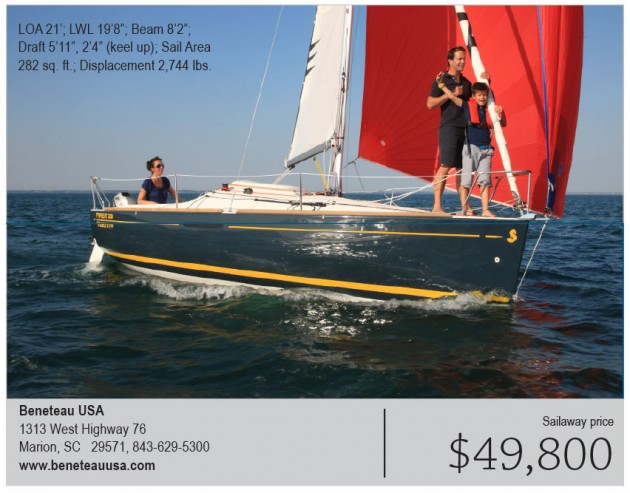 New boat: Beneteau First 20